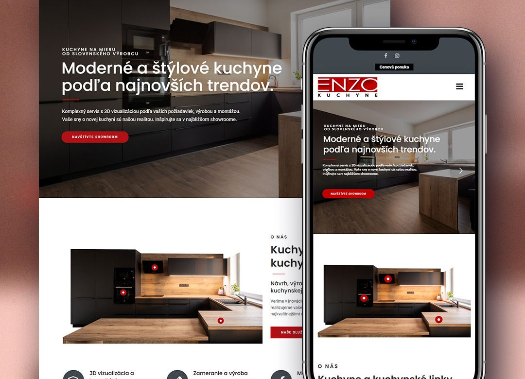 Kuchyne ENZO web